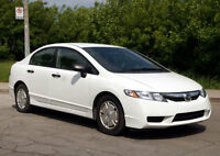 2009 Honda Civic DX 5 vitesses excellente condition 125 000 km