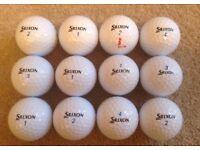 12 SRIXON AD 333 GOLF BALLS