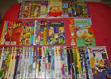 Simpsons Comics Bulk Buy Only Including Issues # 1, 2 and 3. Nambour Maroochydore Area Preview