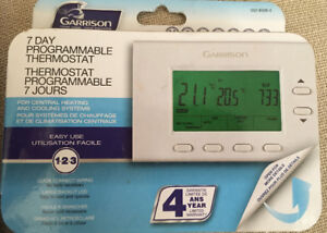 7 Day Programable Thermostat