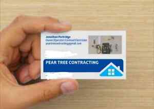 Residential Services contractor for hire, Sackville nb area