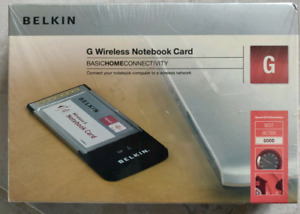 Belkin Wireless G Notebook Card