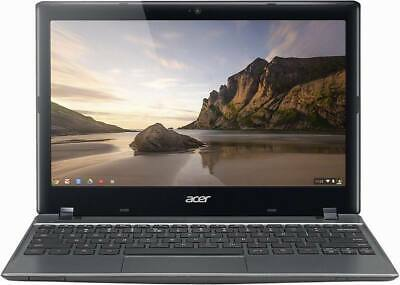 "Acer Chromebook C720 11.6"" laptop 2GB Ram 16GB SSD WIFI WEBCAM HDMI CHROME"