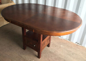 Solid Wood Dining Table - $100 Kitchener / Waterloo Kitchener Area image 1