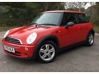 Mini Cooper with services history and long m.o.t