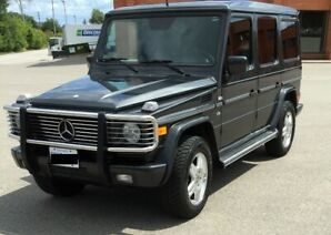 2002 Mercedes Benz G 500 G Wagon Cert Estested