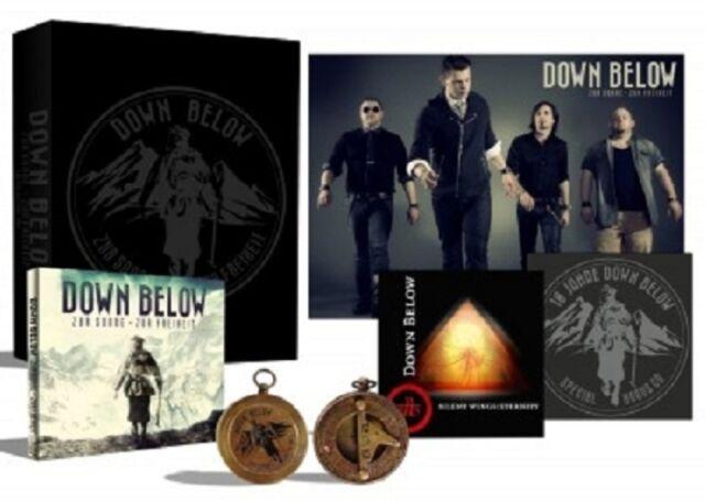 DOWN BELOW - ZUR SONNE-ZUR FREIHEIT (LIMITED EDITION FAN BOX)  4 CD  POP  NEU