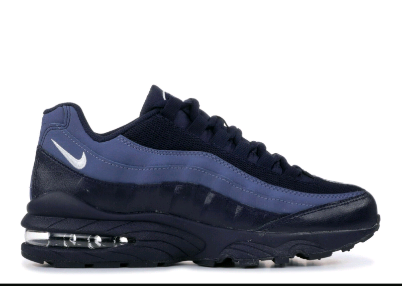 0bd5d2a1e4 Nike Air Max '95 GS size uk 5.5 Blackened blue (genuine/authentic ...