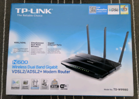TP LINK TD-W9980 Wireless Dual Band Gigabit VDSL2/ADSL2+ Modem Router