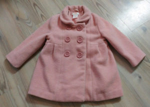 18-24m baby girl dress coat