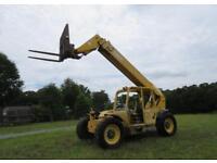 Telescopic Gehl DL6H 40' 6,000 lbs Telescopic Reach Forklift