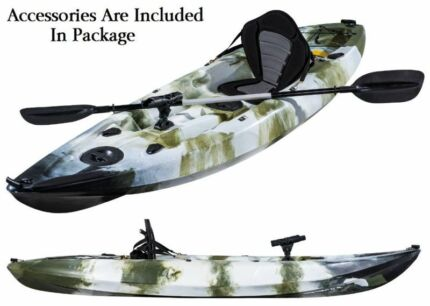 Fishing Kayak Sit-on Ocean Kayak with 5 Rod Holders Deluxe Padded Kings Park Blacktown Area Preview