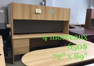 "Mobilier de bureau en ""U""/ Office furniture"