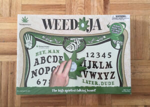 Mega Rare Weed-Ja Talking Ouija Board Brand New Sealed