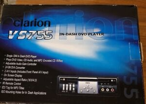 CLARION  VS755 IN -  DASH DVD PLAYER