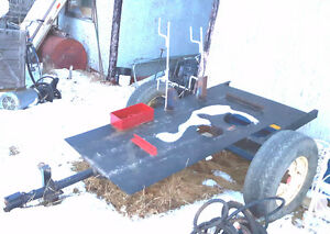 Homemade Welder Trailer