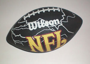 Pittsburgh Steeler Cap and Mini NFL Wilson Souvenir Football Set London Ontario image 3