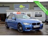 2014 14 BMW 3 SERIES 2.0 320D M SPORT TOURING 5D 181 BHP DIESEL