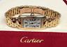 Cartier Tank Americaine W26015K2 18K Yellow Gold