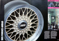 BBS RG 004 FORGED 16 x 7.5 et 18 BMW Fitment e24 e28 M5 535is M6
