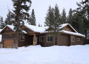 New House in Golden BC 3400 sqft. with 400 sqft. garage