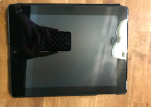iPad with 2 cases  (Mint Condition)