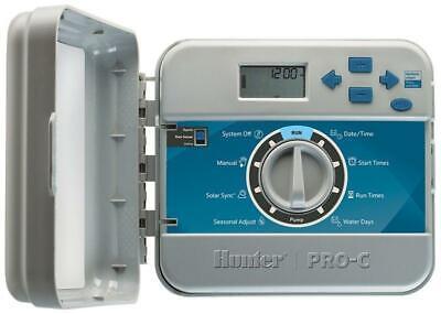HUNTER PC401E Control Unit Irrigation 4 Zone Expandable up To 16 Trasf. Intern