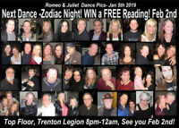Romeo & Juliet's Largest Singles Party! Psychic Night!