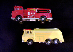 LOUIS MARX emergency toy vehicles - battery-powered !