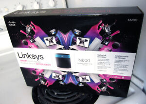 Routeur Linksys N600 Router wi-fi dual band 50$