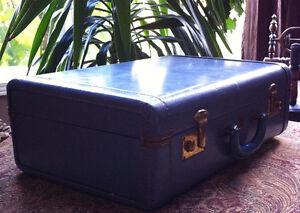 Vintage McBride leather suitcase