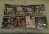 8 PS3 Games in Great Condition