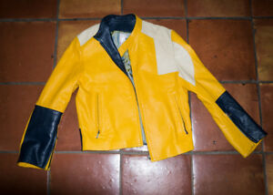"Leather jacket  ""rockstar"""