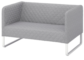 Two seater sofa - grey