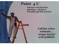 PAINT4U. Professional Painter
