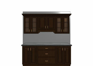 Pay very less for Canadian maple wood cabinets!