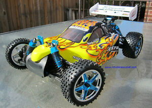 New RC Buggy / Car Brushless Electric1/10 Scale 4WD 2.4G LIPO