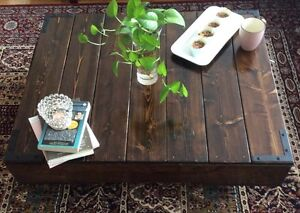 Unique handmade coffee table West Island Greater Montréal image 5