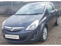 Vauxhall/Opel Corsa 1.3CDTi 2011 GUARANTEED FINANCE payment between £33-£66 PW