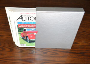 Collectible Automobile magazines - a complete set from 1987