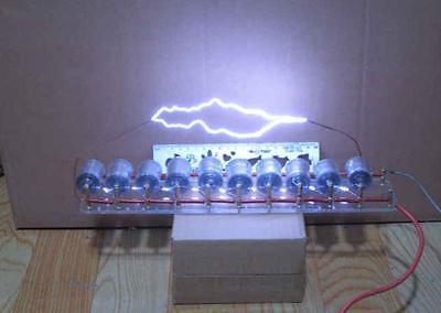10grades Marximpulse Voltagepulse High Voltage Generatortesla Coil Diy Kit