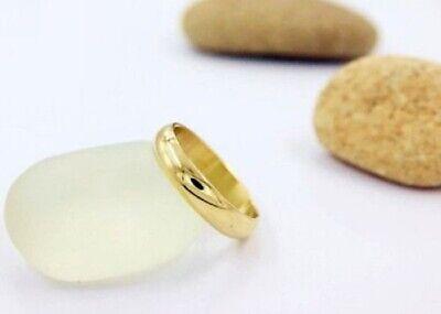 Alianza para hombre y mujer con oro amarillo laminado 18 kt talla...