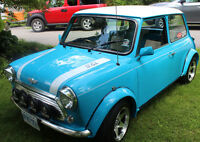 Restored Rover Mini Cooper