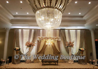 ▪▪▪BANQUET HALL WEDDING BACKDROPS BY MADIHA ▪▪▪