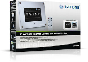 FS: Trendnet TV-M7 Wireless Internet Camera and Photo Monitor