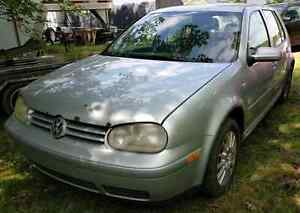 Parting Out 2003 Volkswagen Golf TDI