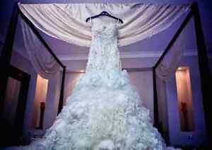 ***ROBE DE MARIEE HAUTE GAMME/ HIGH END WEDDING GOWN ***
