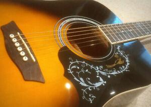 Washburn (GWL)  Acoustic Electric Guitar - $175