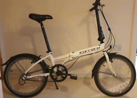 """Carrera Transit folding bike, 20""""wheels, 3gears, lightweight frame"""