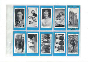 Cigarette Cards- Complete Sets for Sale or Trade 1900-1940